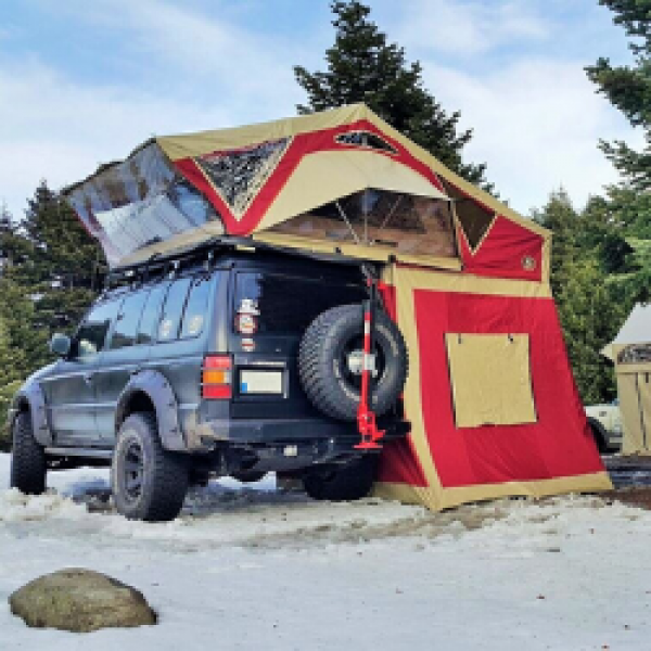 ROOF TOP TENTS BY CAPACITY